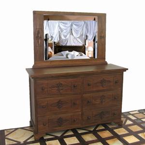 Lotus 6-Drawer Dresser