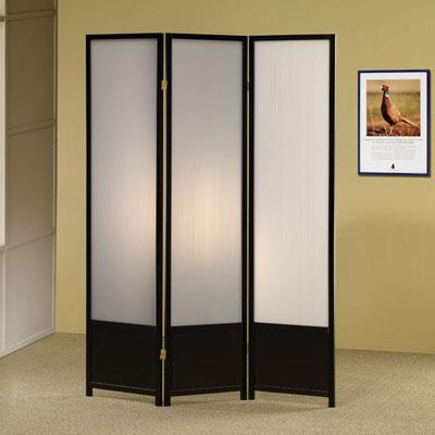 Illumination Three Panel Screen
