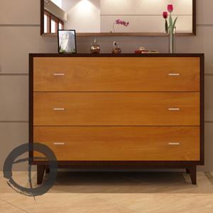 California 3-Drawer Dresser