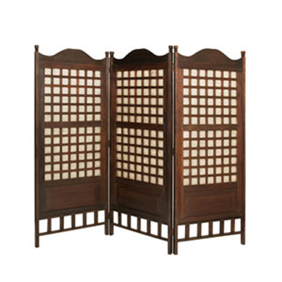 Capice Diamond Three Panel Screen