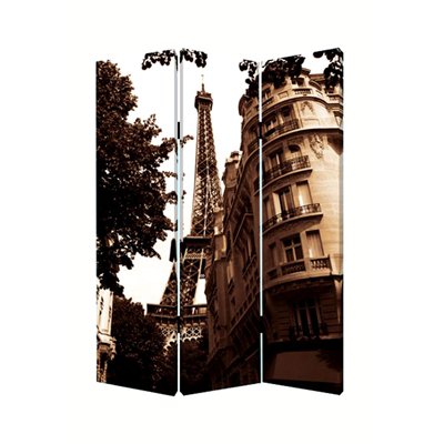 Paris Three Panel Screen