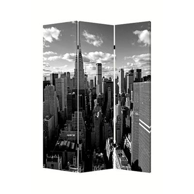 New York Skyline Three Panel Screen
