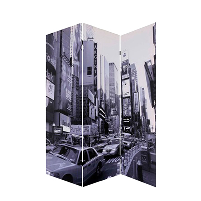 New York City Three Panel Screen
