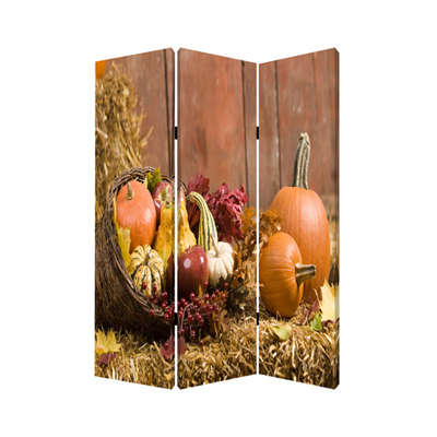 Harvest Three Panel Screen