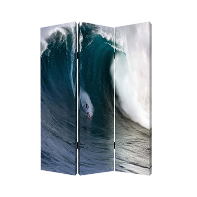 Wave Three Panel Screen