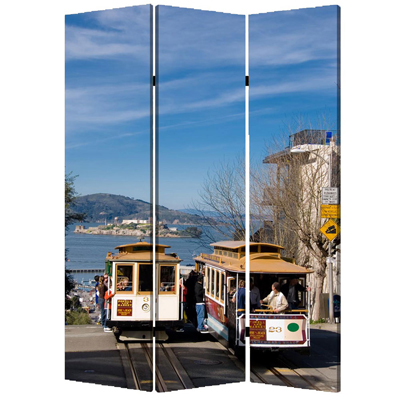 San Francisco Three Panel Screen