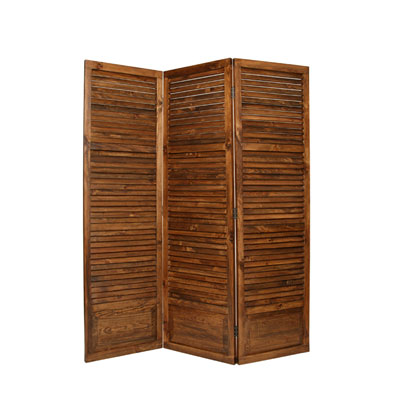 Plantation Three Panel Screen