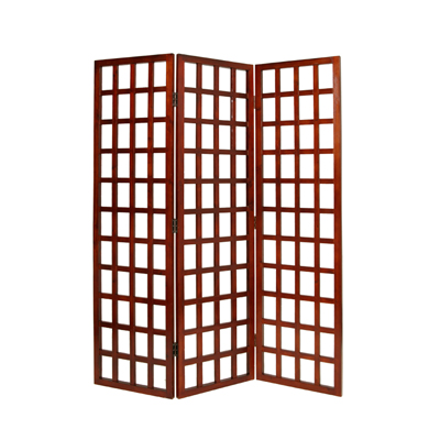 Dakota Three Panel Screen (Brown)