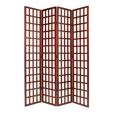 Dakota Four Panel Screen (Brown)