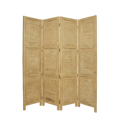 Nantucket Four Panel Screen (Yellow)