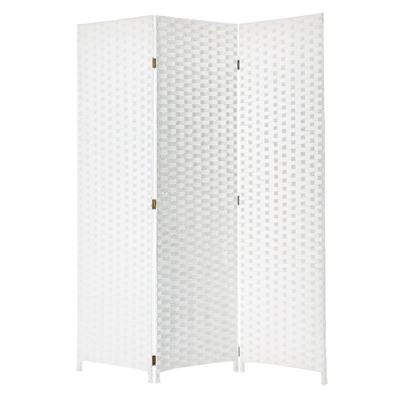 Pensacola Three Panel Screen (White)