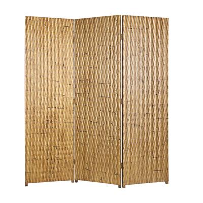 Gilded Three Panel Screen