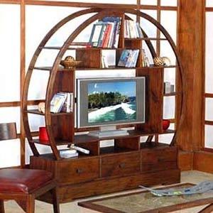 Custom Buddha Flatscreen TV Stand