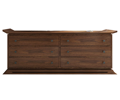 Kondo Teak 6-Drawer Dresser