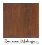 Wood Swatches Available - Mahogany