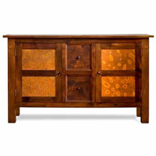 Mahogany & Copper Buffet