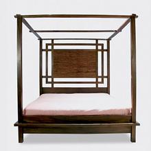 Kobe Canopy Platform Bed