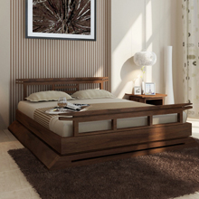 Asian Canopy and Platform Bed Frames Eco Friendly Styles TansuNet
