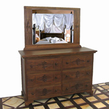 Lotus 6-Drawer Dresser