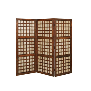 Capice Square Three Panel Screen
