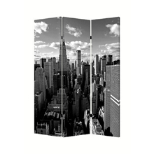 New York Skyline Three Panel Screen