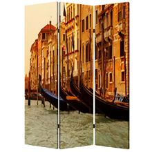 Venice Three Panel Screen