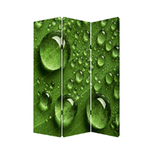 Rain Three Panel Screen