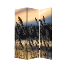 Whisper Reed Three Panel Screen