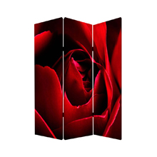 Rose Three Panel Screen