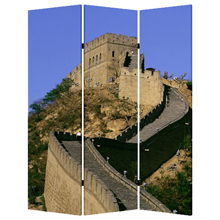 China Three Panel Screen