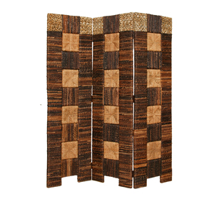 Braided Fusion Three Panel Screen