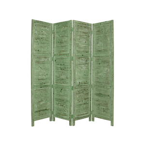Nantucket Four Panel Screen (Green)