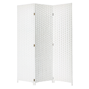 Pensacola Three Panel Screen (White)