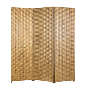 Gilded Three Panel Screen