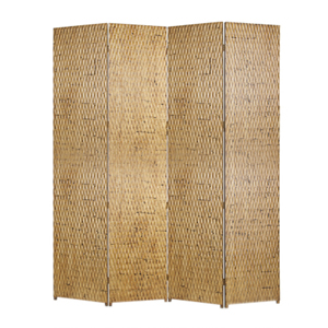 Gilded Four Panel Screen