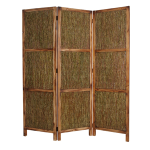 Evergreen Three Panel Screen