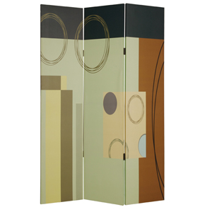 Haily Three Panel Screen
