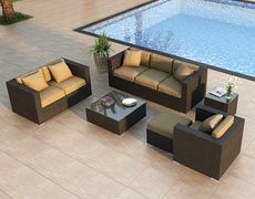 5-Pc + Urbana Sofa Set (HL-URBN-5SS)
