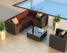 5-Pc + Urbana Sectional (HL-URBN-5SECT)