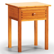 Hosta Bamboo Nightstand