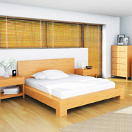 Orchid Bamboo Platform Bed